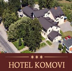 hotel komovi